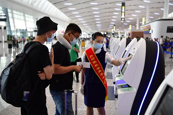 国庆期间,成都双流机场旅客吞吐量居全国第三